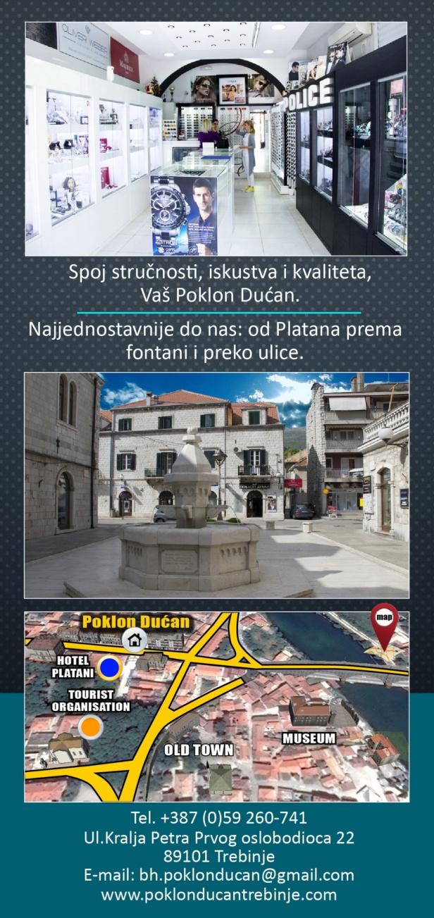 Flajer Poklon Dućan - Trebinje