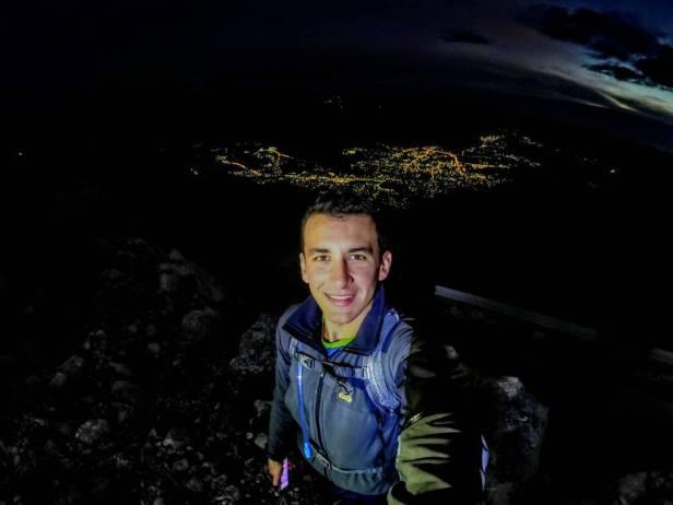 Autor objave na Instagramu Miloš Bodiroga s LEOTARa noću