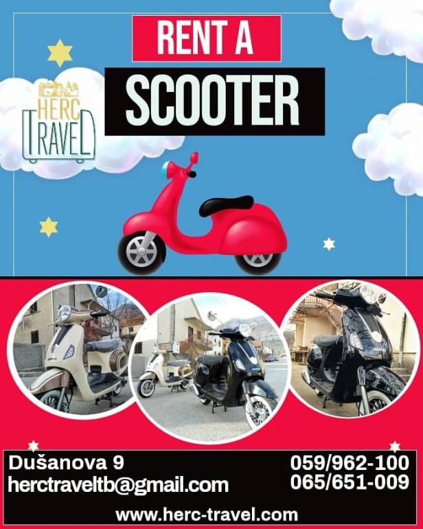 rent a scooter herc travel